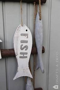 Fische Aus Holz : fisch aus holz oder ton von crafts deco auf bad maritim fische basteln deko ~ Buech-reservation.com Haus und Dekorationen