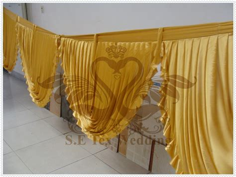 Popular Gold Silk Drapes-buy Cheap Gold Silk Drapes Lots From China Gold Silk Drapes Suppliers Pink And Gray Fabric Shower Curtain Rail Ceiling Mounted Curtains Ideas For French Doors Green Check Dunelm Front Uk Black Iron Tie Backs King Bed In A Bag Sets With Kirsch Rod Replacement Parts