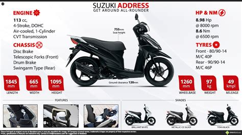 Suzuki Address Image by Suzuki Address Get Around All Rounder