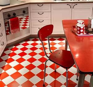 Sol Vinyle Cuisine : carrelage rouge sol collection avec sol vinyle bubblegum ~ Farleysfitness.com Idées de Décoration