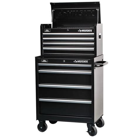home depot husky cabinet husky 27 in 8 drawer tool chest and cabinet set h4ch1r