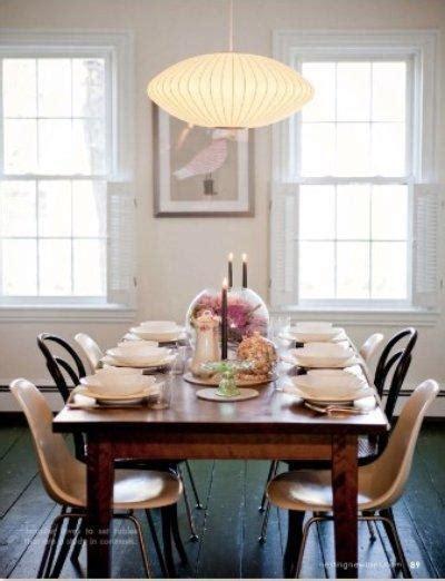 Nelson Pendants   Vintage   dining room
