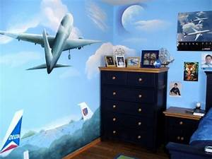 Blue Aviation Wall Decor ~ Home Decorations : Nice Baby