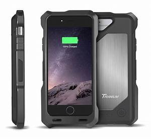 Trianium Aluminium Backplate Battery Case For Iphone 6  4
