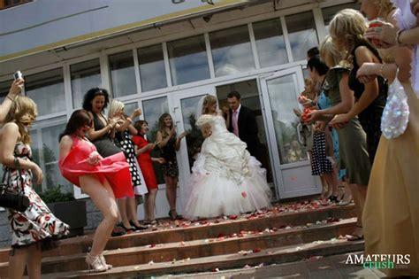 Candid Wedding Oops Upskirt