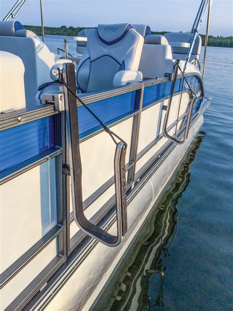 Rod Holders For Pontoon Boat Rails by Surfstow Suprax Single Board Pontoon Rail Mounting