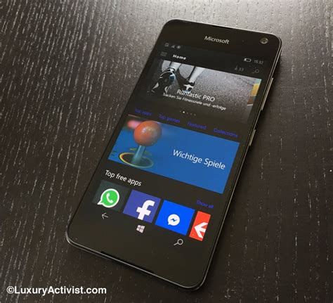 microsoft lumia 650 the test luxury activist