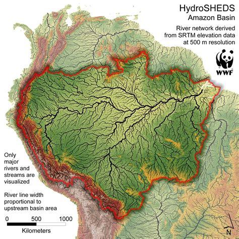Regenwald Brasilien Karte