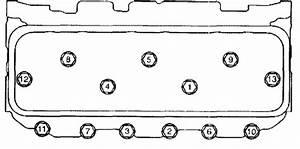 Chevrolet - Head Bolt Sequence