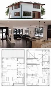 Maison Architecte Plan : plan de maison petite maison maison en 2019 plan maison maison et maison moderne ~ Dode.kayakingforconservation.com Idées de Décoration