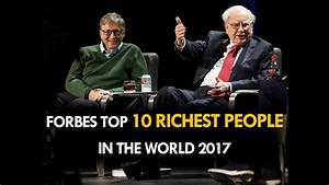 The Top 10 Richest People in the World: Forbes ...