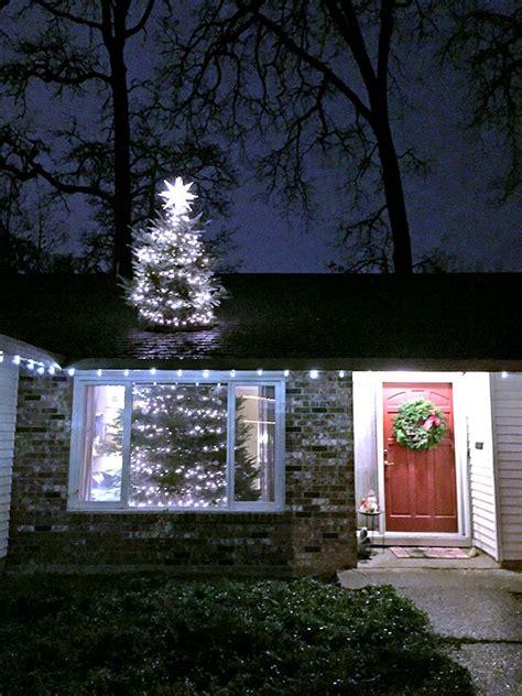 big   christmas tree   roof
