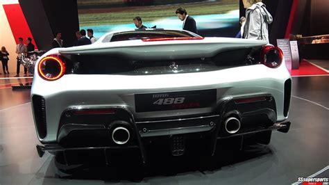 13 Silver 2019 Ferrari 488 Pista At 2018 Geneva Motor Show