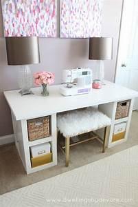Ikea Schreibtisch Hack : 20 cool and budget ikea desk hacks hative ~ Watch28wear.com Haus und Dekorationen