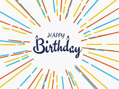 Birthday Happy Background Freepik Someone Dribbble Vector