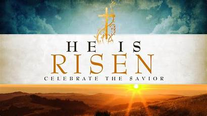 Jesus Easter Risen Resurrection Happy Desktop Days