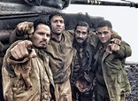 David Ayer Posts New Photos of the Cast on the Fury Set ...