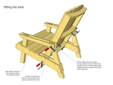 Adirondack Chair Woodworking Plans by Diy How To Make An Adirondack Lawn Chair Plans Free