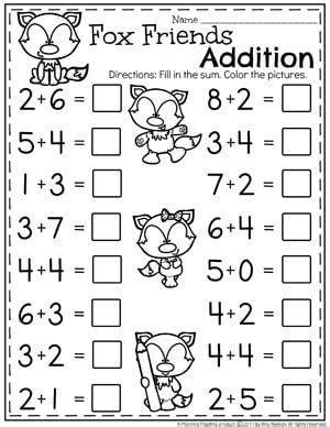 Addition Worksheets  Homeschooling  Addition Worksheets, Kindergarten Addition Worksheets