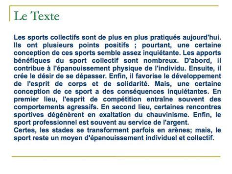 cours de cuisine en groupe exemple texte argumentatif 002 le goût du français