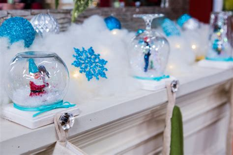 tanya memmes diy snow globe stocking holder home