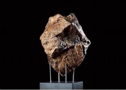 Meteorite Meteorites Iron Redgallery Stony Slice 11cm