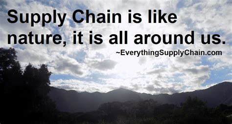 supply chain logistics manufacturing quotes supply