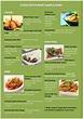 menu samples for restaurants