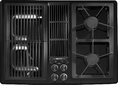 jenn air designer  modular gas downdraft cooktop  jgdads cooktop gas stove top