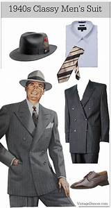 1940s Men's Outfit & Costume Ideas