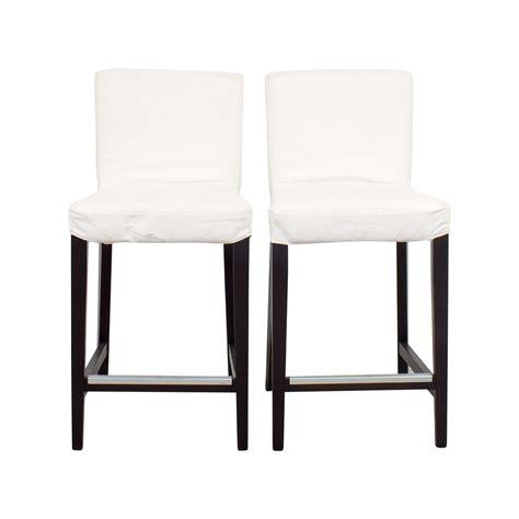 chaise en bois ikea chaise henriksdal stunning ikea tabouret de bar en bois