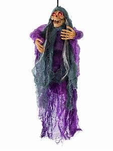Halloween Deko Günstig Kaufen : animierter d mon zombie halloween h nge deko lila schwarz 51cm ~ Michelbontemps.com Haus und Dekorationen