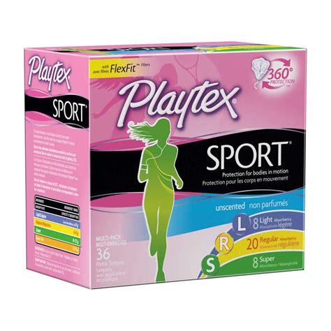 playtex sport light tons playtex sport tons unscented multipack light regular