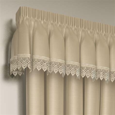 lined lace embroidered pelmet valance tonys textiles tonys textiles