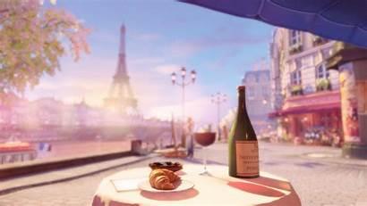 Paris Wallpapers Tower Eiffel Desktop Aesthetic Anime