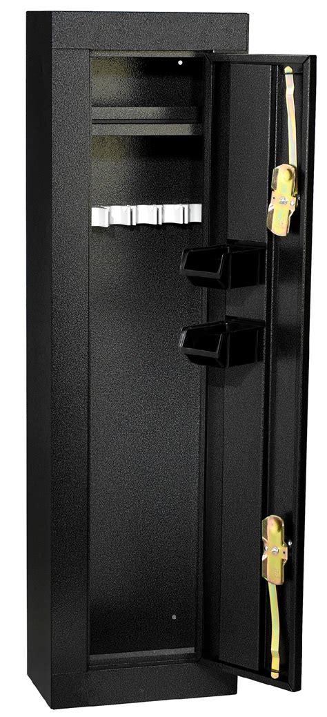 Homak Gun Cabinets Canada by Homak Security 6 Gun Steel Cabinet Black