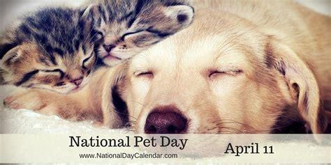 national pet day april 11 national day calendar