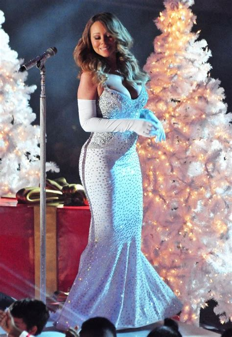 mariah carey christmas tree lighting  holiday tradition