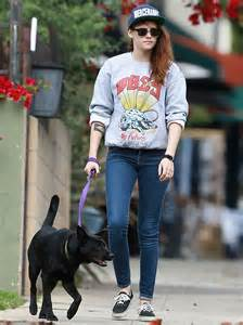 Dog Kristen Stewart
