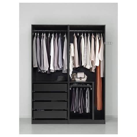 Black Brown Wardrobe Closet by Ikea Pax Wardrobe Black Brown Auli Ilseng Bedroom