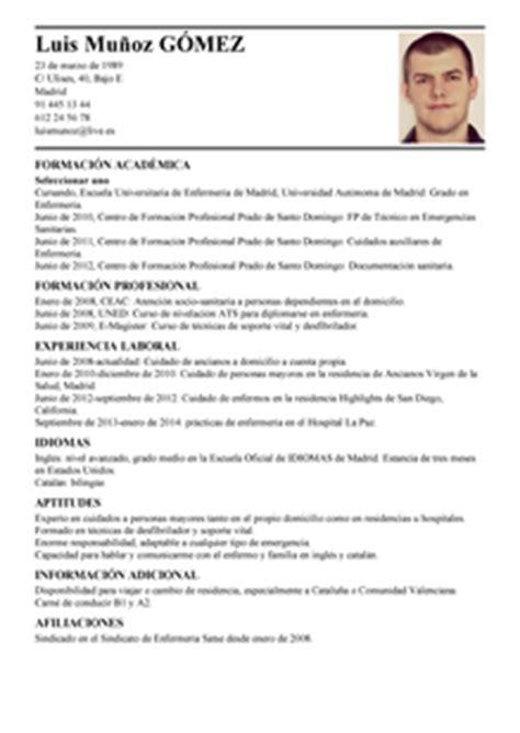 Ejemplo De Curriculum Vitae Ejecutivo Pdf Example Good Resume Template