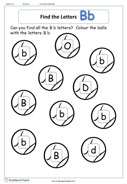 letter b worksheets find the letter b worksheet treasure trove 22774   find the letters Bb 415x600
