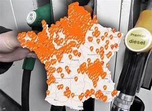 Carte Penurie Carburant : la carte en temps r el des stations service en p nurie de carburants pr s de chez vous exclusif ~ Maxctalentgroup.com Avis de Voitures