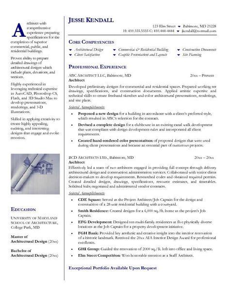 landscape designer resume template architect resume