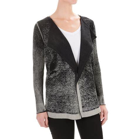 wrap sweater cardigan 525 america spray dye wrap cardigan sweater for