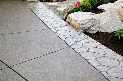 Exposed Aggregate Concrete Overlay  Exposed Aggregate Patio
