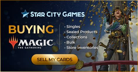 You can either sell or trade at cardcash. Sell Magic Cards, MTG Collections, MTG Buylist - SCG ...