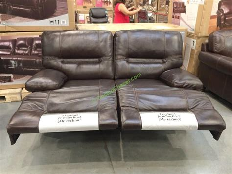 cheers leather sofa costco costco leather reclining sofa cheers clayton motion