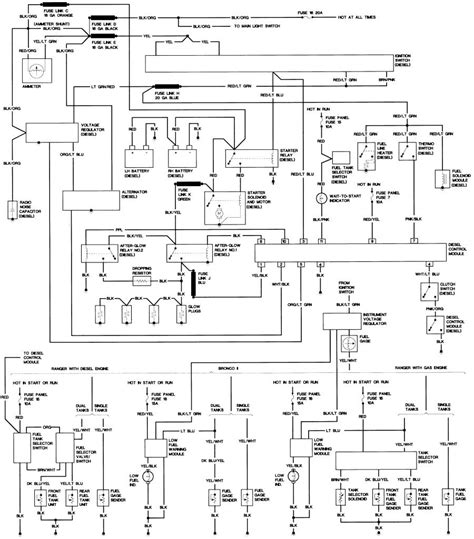 1989 Bronco 2 Wiring Diagram by The Bronco Ii Corral Library