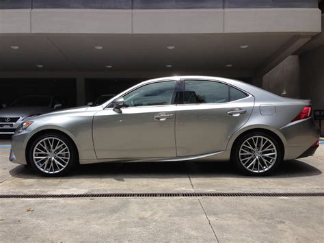 lexus atomic silver my car 2014 lexus is250 in atomic silver sheer